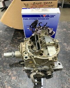 1970 Buick Skylark Gs 455 Carburetor 7040240 Md With Rebuild Kit