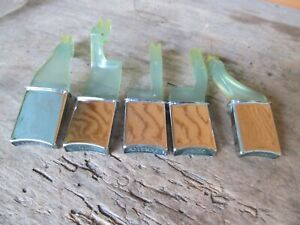 64 1964 Plymouth Transmission Pushbutton Control Knobs Nice
