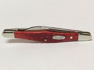 CASE XX COCA COLA RED BONE SMALL TUXEDO POCKET KNIFE 62156 JM