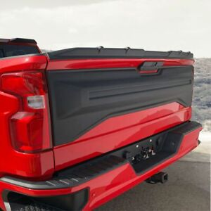 Fits 19 20 Silverado 1500 Air Design Tailgate Applique Panel Cover Black Gm39a33
