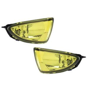 Fog Light Kit W Switch For 2004 2005 Honda Civic 2 4 Door Sedan Coupe Yellow