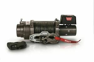 Warn Winch M12 S 12000 Lb Incl 100 Ft Of 3 8 In Spydura Synthetic Rope