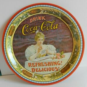 1977 Vintage Coca Cola Coke 75th Anniversary Serving Tray number 86 of 2,000