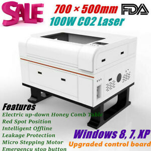Fda 700mm 500mm 100w Co2 Laser Engraver Engraving And Cutter Machines