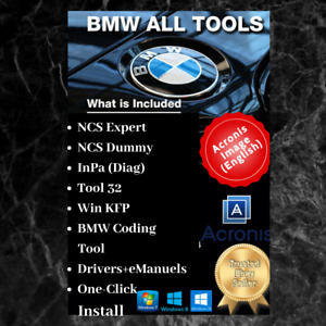 Bmw Dealer Tool Diagnose Coding And Programming Software One Click Install