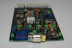 Wallac Lkb 1277 Ear 10549004c 10849595 Board Card 231695 Gamma Master