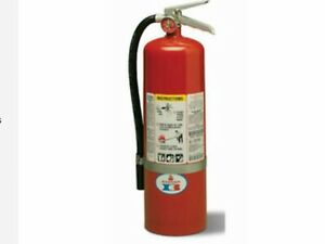 Badger 22603 Abc Dry Chemical 10 Lb Fire Extinguisher