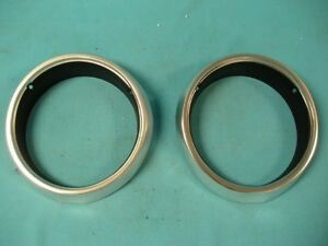 New 1963 1964 And 1965 A Body Plymouth Valiant And Barracuda Headlight Bezels