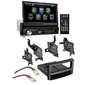 Soundstream Bluetooth Radio 7 Lcd Touchscreen Dash Kit For 07 14 Toyota Yaris