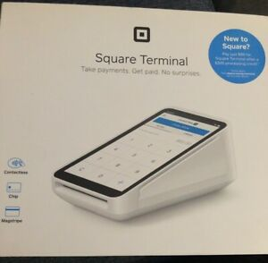 Square Asku0556a1 Pos Credit Card And Mobile Payment Terminal Block New