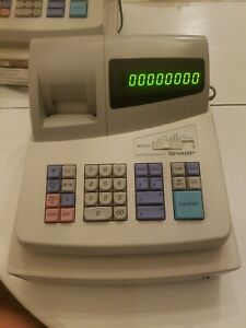 Pre Owned Sharp Xe a101 Electronic Cash Register