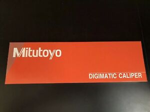 Mitutoyo 500 754 20 Ip67 Absolute Coolant Proof Digimatic Caliper 0 12