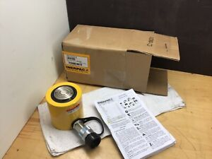 Enerpac Rcs 201 Single acting Low height Hydraulic Cylinder With 20 Ton Capacity