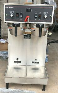 Bunn Softheat Dual Warmer Burner Commercial Coffee Brewer Maker 27900 001