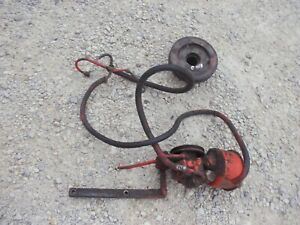 Case 830 Diesel Rowcrop Tractor Working Ps Power Steering Assembly Pump Pulley
