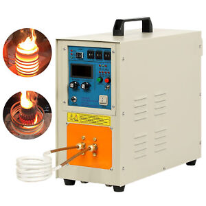 High Frequency Induction Heater Furnace Aluminum Alloy Melting Furnace 220v