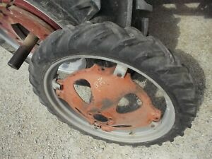Allis Chalmers G Tractor 6 X 30 30 Bf Goodrich Tread Tire Ac Rim Center