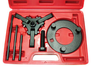 Puller And Holding Tool Set Late Model Harmonic Dampener