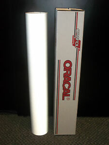 Oracal 5500 Reflective White Sign Vinyl 24 x10ft 7 Year Reflective