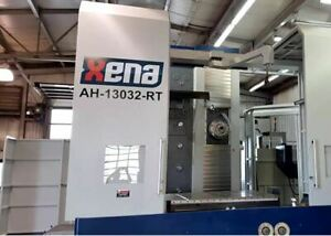 2017 Xena 5a 5 Axis Cnc Horizontal Boring Mill 130mm 3 2m