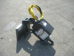 Lowe 750 Classic Round Auger Drive Post Hole Digger Fits Mini Skid Steer Loader