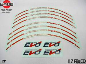 Japan Material 17 Evo Regamaster High Quality Replacement Decal Sticker r037