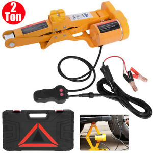 2ton Capacity 12v Electric Automotive Car Floor Jack Lift Stand Garage Stable Us