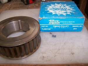 New Martin Timing Pulley Tl30h150 Uses 2012 Taper Lock