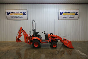 2018 Kubota Bx23s Hst Tractor Orops 4x4 Mid Mount Pto