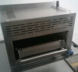 Imperial Isb 24 Commercial Kitchen Salamander Broiler Natural Gas Table Top