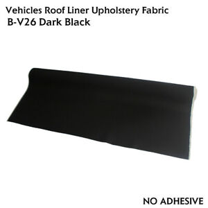 Blackout Headliner Material Fabric Upholstery Top Roof Protector Replace 36 X60