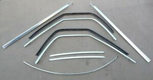 Oem 1977 1980 Ford Ranchero Driver Passenger Windshield Channel stainless Trim