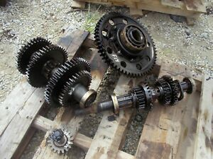 Farmall F14 Tractor Ih Transmission Matched Set Top Bottom Gears Shaft Pinion