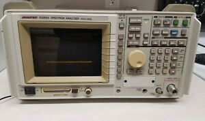 Advantest R3265a Spectrum Analyzer 100hz To 8ghz With Gp ib