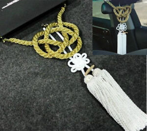 New Vip Charm Junction Produce Jdm Fusa White Kiku Jp Knot Gold Kin Tsuna Rope