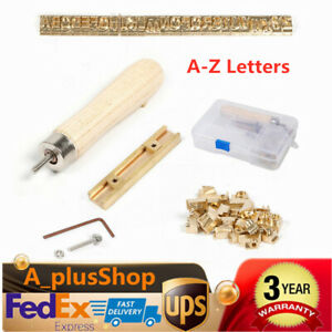 A z Letters Logo For Hot Foil Stamping Machine Pvc Card Leather Bronzing Usa