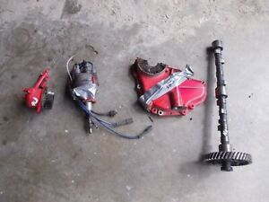Ford 8n Tractor Engine Motor Side Mount Distributor Assembly Parts To Convert