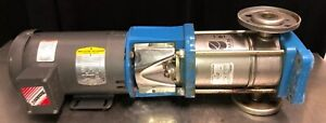 Goulds 3sv7fa30 7 Stg Esv Stainless Vertical Water Pump With Baldor Motor