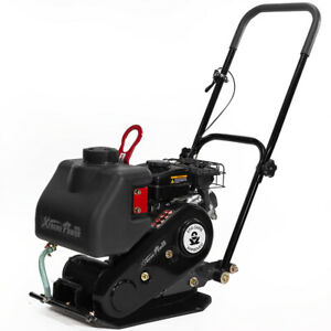 2 5hp Plate Compactor Vibration Epa Carb 1920 Lbs Force With Built in Water Tank