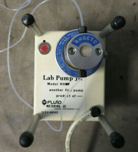 Rh 9y Fluid Metering Lab Pump with 115v Drive Used Low Flow High Precision