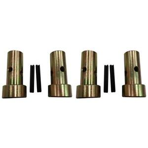 2 Pairs Of Cat 1 Quick Hitch Adapter Bushings 3 Pt Tractor Bushing Set