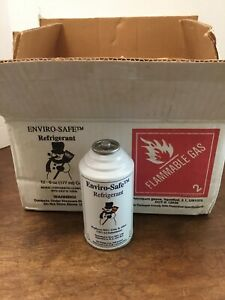 Enviro Safe Hfc 134a Cfc 12 Replacement Refrigerant 12 6oz Cans New Old Stock