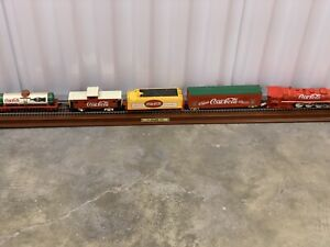 Coca Cola Train Display With Track