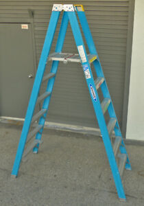 Werner Pt6006 Twin Platform Ladder 6 ft Fiberglass