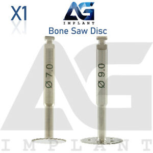 Saw Disc 7 0 9 0 Bone Widening Spreading Instrument Surgical Dental Implant