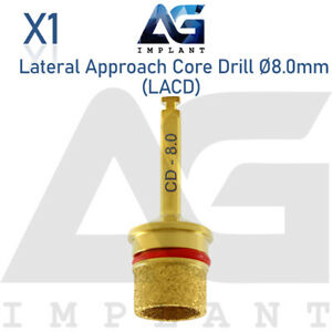 Lateral Approach Core Drill Sinus Lift 8 0mm Tool Surgical Dental Implant