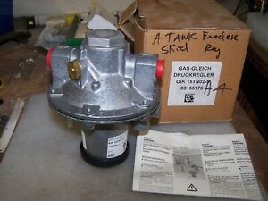New Gas gleich Druckregler Gik 15tn02 5 Air gas Pressure Regulator 3 Psi 1 2