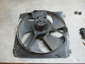 Radiator Fan 2 2 4 Cyl Turbo Chrysler Maserati Tc 89 90 91