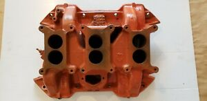 1970 440 6 Pack Intake Manifold Cast Iron Dodge Plymouth Mopar