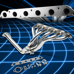 For 86 92 Toyota Supra 3 0l Non Turbo Stainless Header Manifold Exhaust Y Pipe